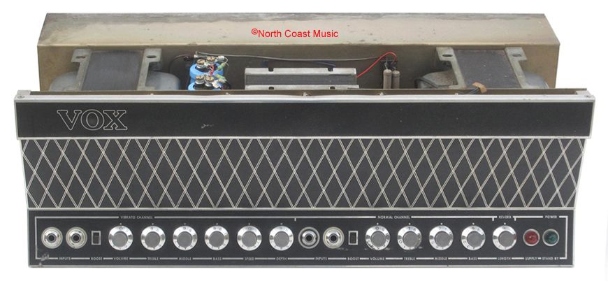 The VOX Showroom - Vox 7120 Amp - A Look Under the Hood