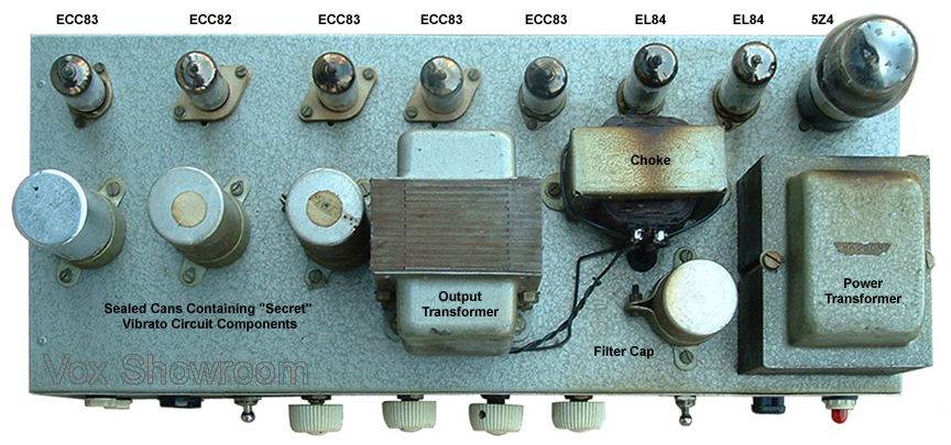the vox showroom 1958 1959 jmi vox ac 15 amplifier a. Black Bedroom Furniture Sets. Home Design Ideas