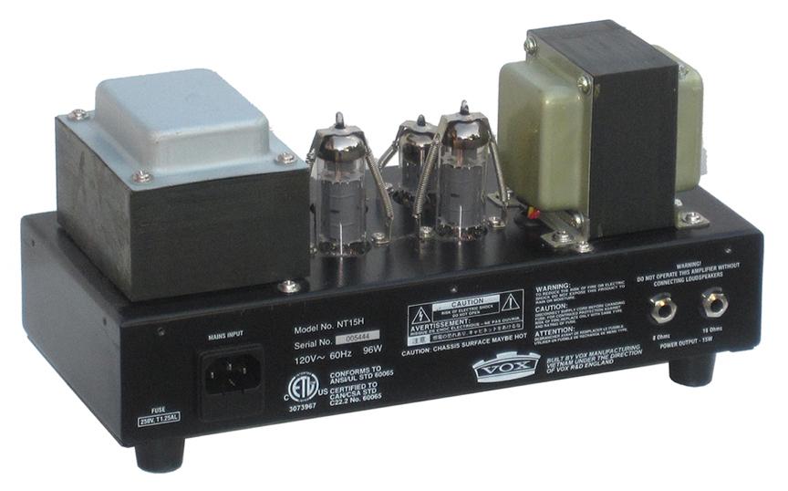 the vox showroom vox nt15h night train 15 amplifier a look rh voxshowroom com Vox Night Train NT50H Vox NT50H