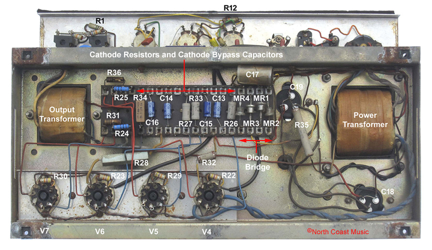 The VOX Showroom - Vox AC-100 MKI Cathode Biased Amp Head