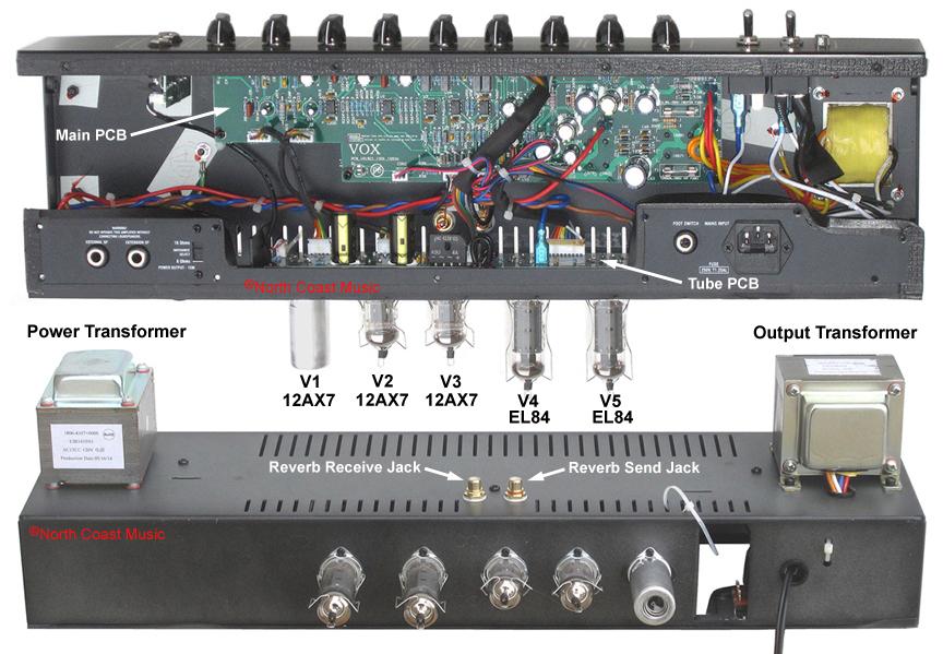 The VOX Showroom - Vox AC15C1 Amplifier - A Look Under the Hood