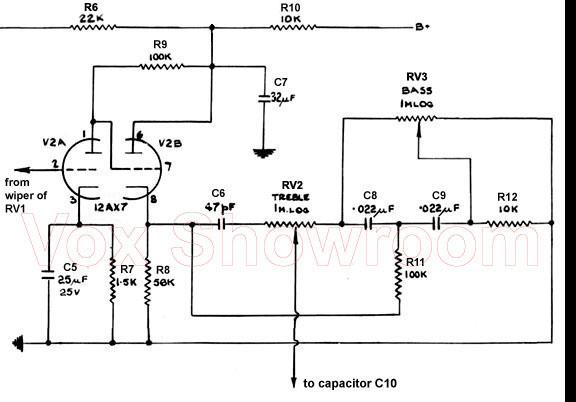 Pleasant The Vox Showroom Vox Ac 50 Mk I Two Input Amplifier Head A Look Wiring Database Denligelartorg