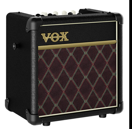 The Vox Showroom The Vox Mini 5 Rhythm Battery Ac Amplifier