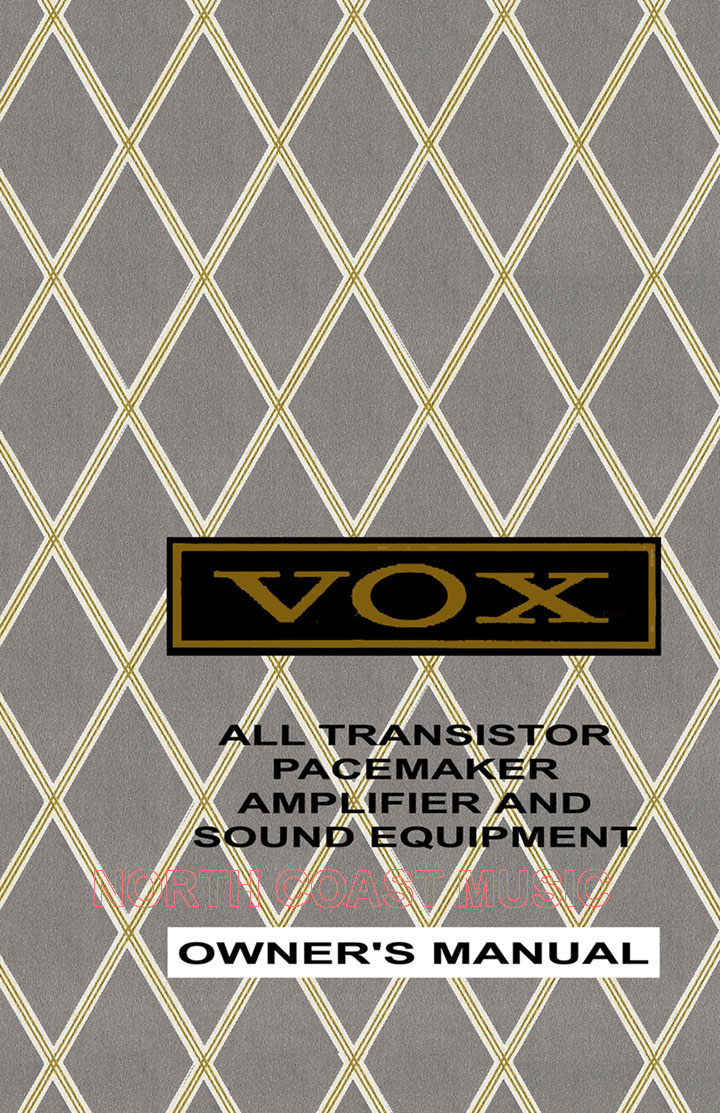 Vox V112tv Cabinet The Vox Showroom Vox Amp And Organ Owners Manual Reference Page