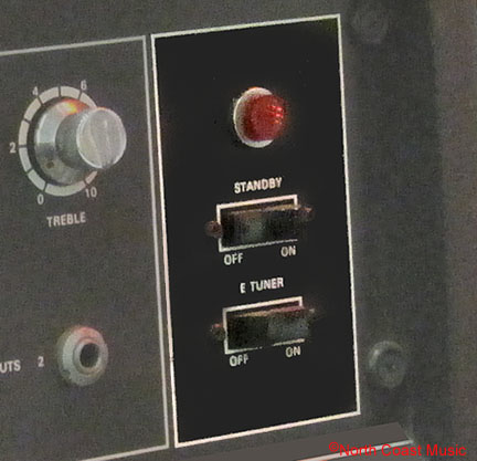 Using Amplifier Standby Switch