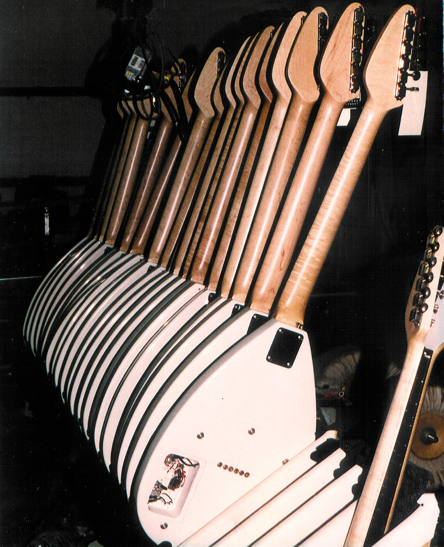 the vox showroom vox mark iii mark vi and mini xii guitar the l r yoshio matsuba and seiki kato korg john hawkins and norio iwasaki korg discuss the vox guitar order 1998