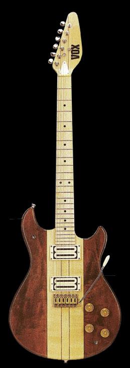 The VOX Showroom - Vox Standard 25 Guitar and Vox Custom 25 Guitar