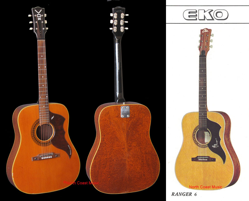 the vox showroom vox v238 country western guitar