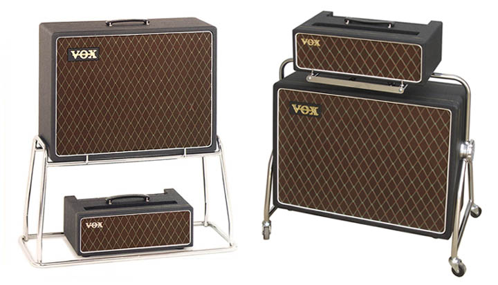Vox AC 50 Small Box (Mk I) Head And Speaker Cabinets By North Coast Music